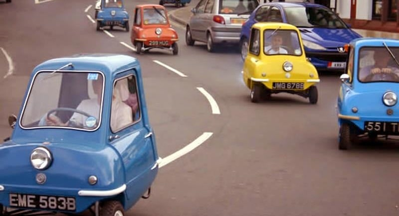 peel p50 ou la plus petite voiture du monde vid o top gear. Black Bedroom Furniture Sets. Home Design Ideas
