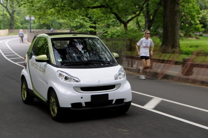 la smart fortwo ed future autolib' ?