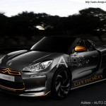 la citroen ds3 roadster en photoshop