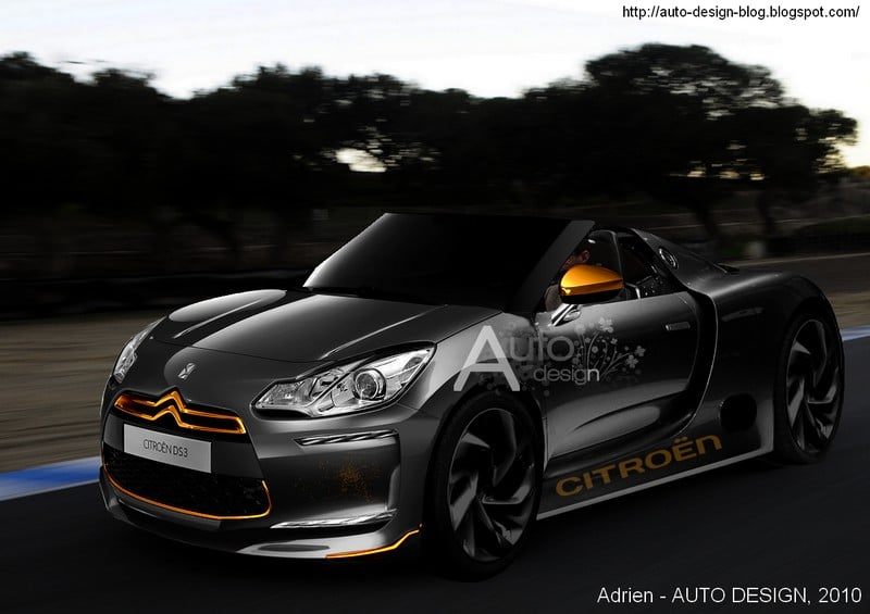 La Citroën DS3 se transforme en roadster !