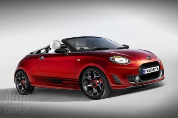 la future abarth roadster