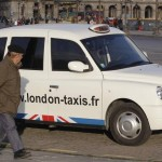 Taxi cab tx4 london