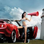 calendrier miss tuning 2011_mustang
