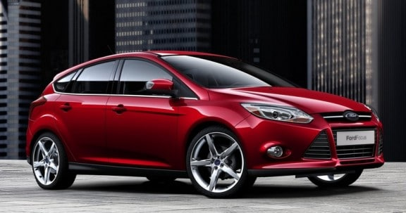 la ford focus 3 2011 rouge