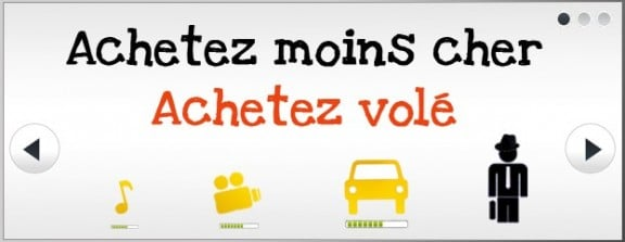 capture du site voiture-volee.com