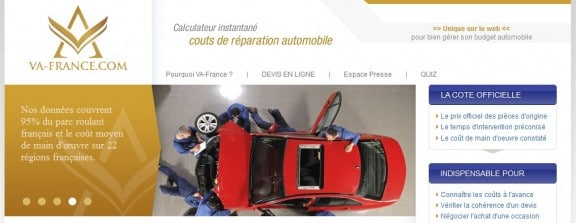 capture du site va-france.com