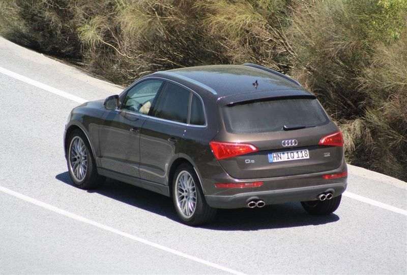 La future Audi Q5 RS 4×4 surprise en cavale