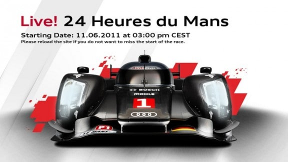 24h du mans 2011 le live audi et peugeot en streaming. Black Bedroom Furniture Sets. Home Design Ideas