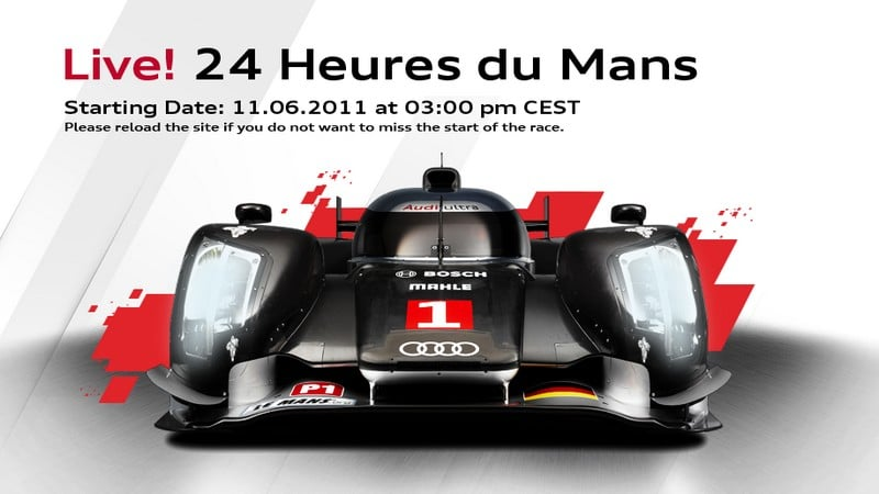 Regarder la course des 24 H du Mans en direct
