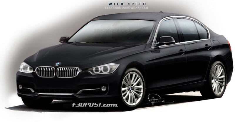 bmw s rie 3 f30 2012 date de sortie au printemps. Black Bedroom Furniture Sets. Home Design Ideas