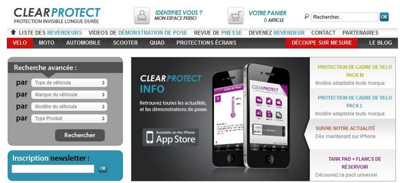 Clearprotect, protection invisible longue durée