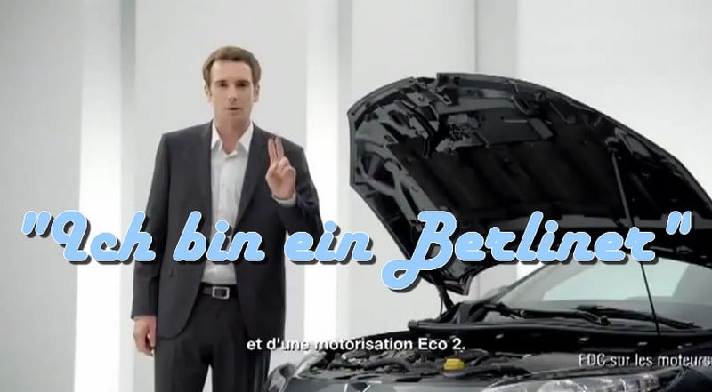 Quand Renault parodie la publicité automobile germanique