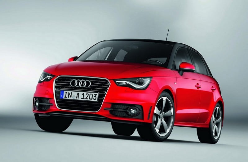 audi a1 sportback de sortie pour 2012. Black Bedroom Furniture Sets. Home Design Ideas