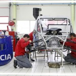 la preparation du dacia lodgy avant la course