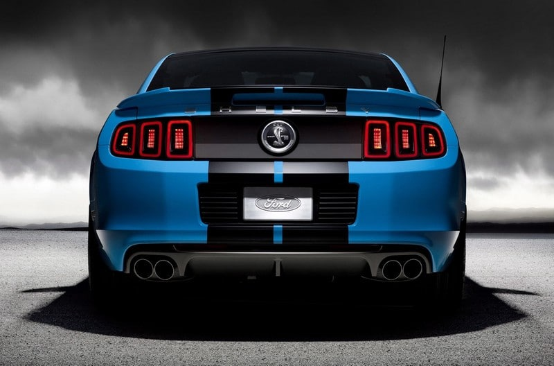 2012 ford gt 500 650 hp