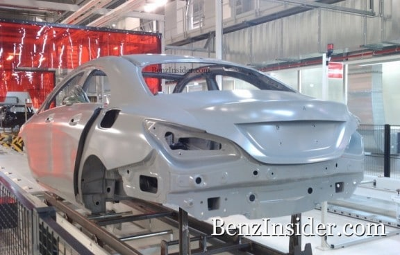 la mercedes clc en construction
