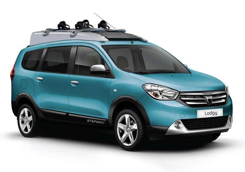 Dacia Lodgy Stepway : la version tout-terrain en image