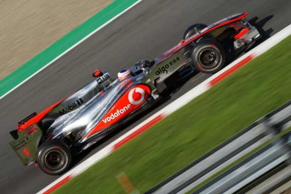 la monoplace mclaren de button
