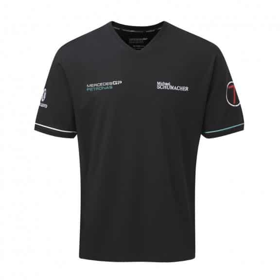 le t-shirt mercedes gp de schumacher