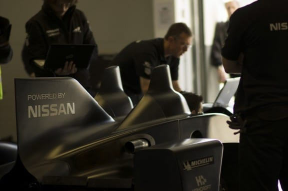 la nissan deltawing en preparation