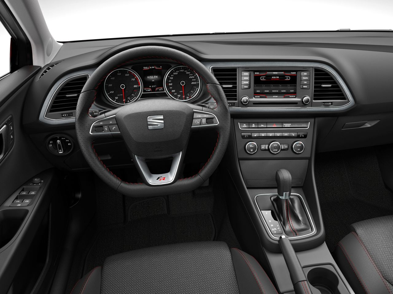 Seat leon iii les images officielles avec la version fr for Interieur seat leon