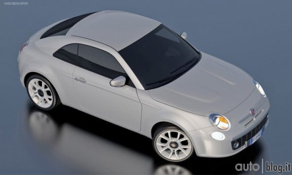 la future fiat 500 coupe