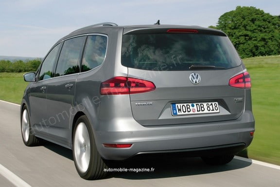 volkswagen touran ii 2014 motorisations sortie et prix. Black Bedroom Furniture Sets. Home Design Ideas