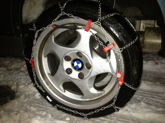 chaine neige thule koning bmw