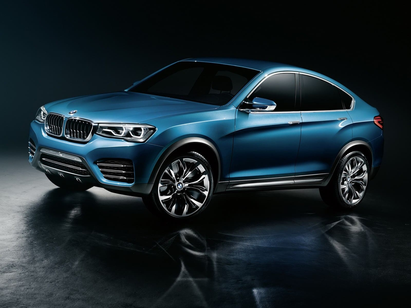 bmw x4 concept un nouveau suv entre le x3 et le x6. Black Bedroom Furniture Sets. Home Design Ideas