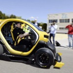 Twizy RS F1 test route