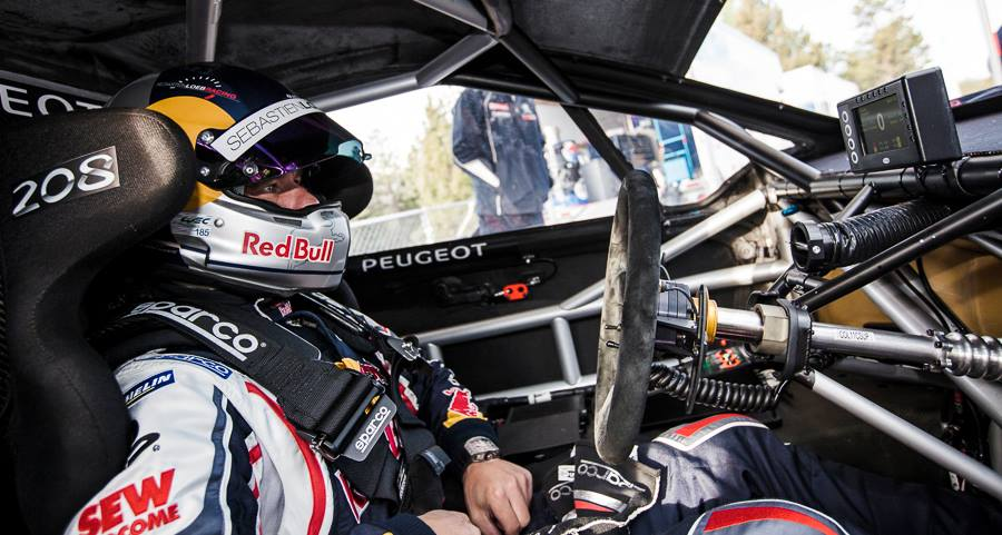 Red bull vid o int grale de la course de loeb pikes peak for Interieur wrc