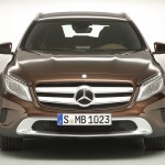 Mercedes GLA concept brown