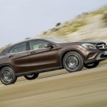 mercedes gla route