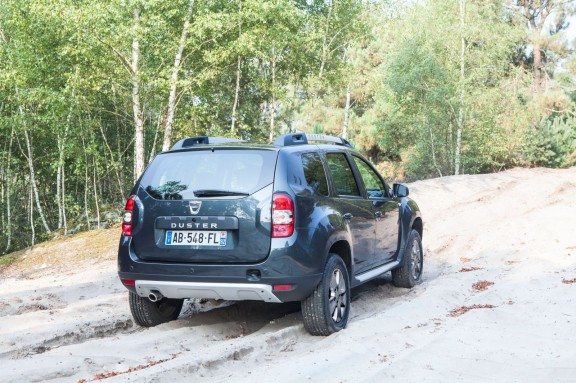 Dacia Duster restylage - Vue arrière