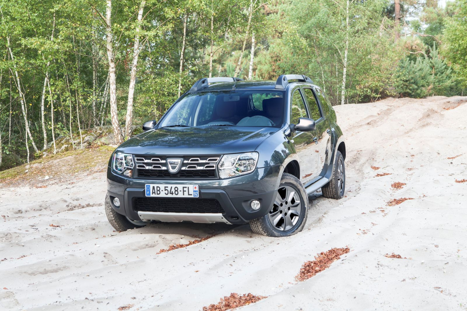 Dacia Duster restylage - Face avant