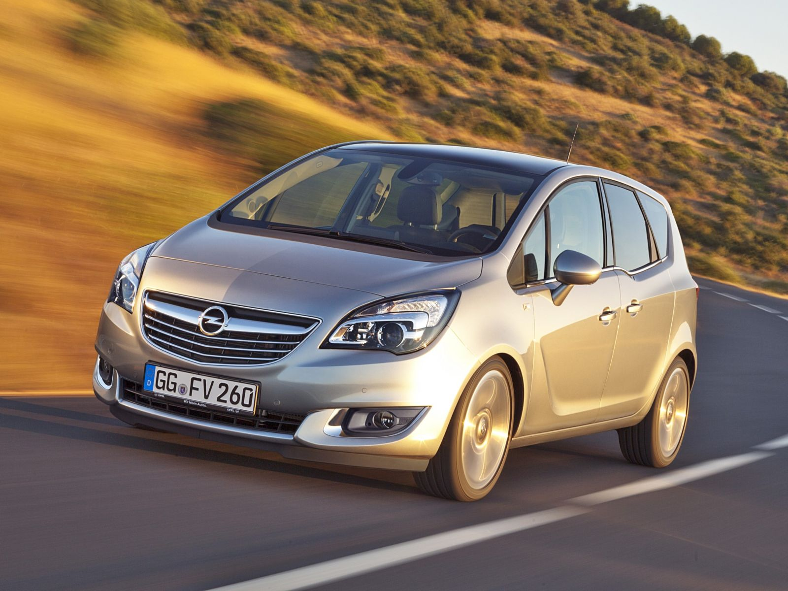 opel meriva 2014 le nouveau monospace au blitz. Black Bedroom Furniture Sets. Home Design Ideas