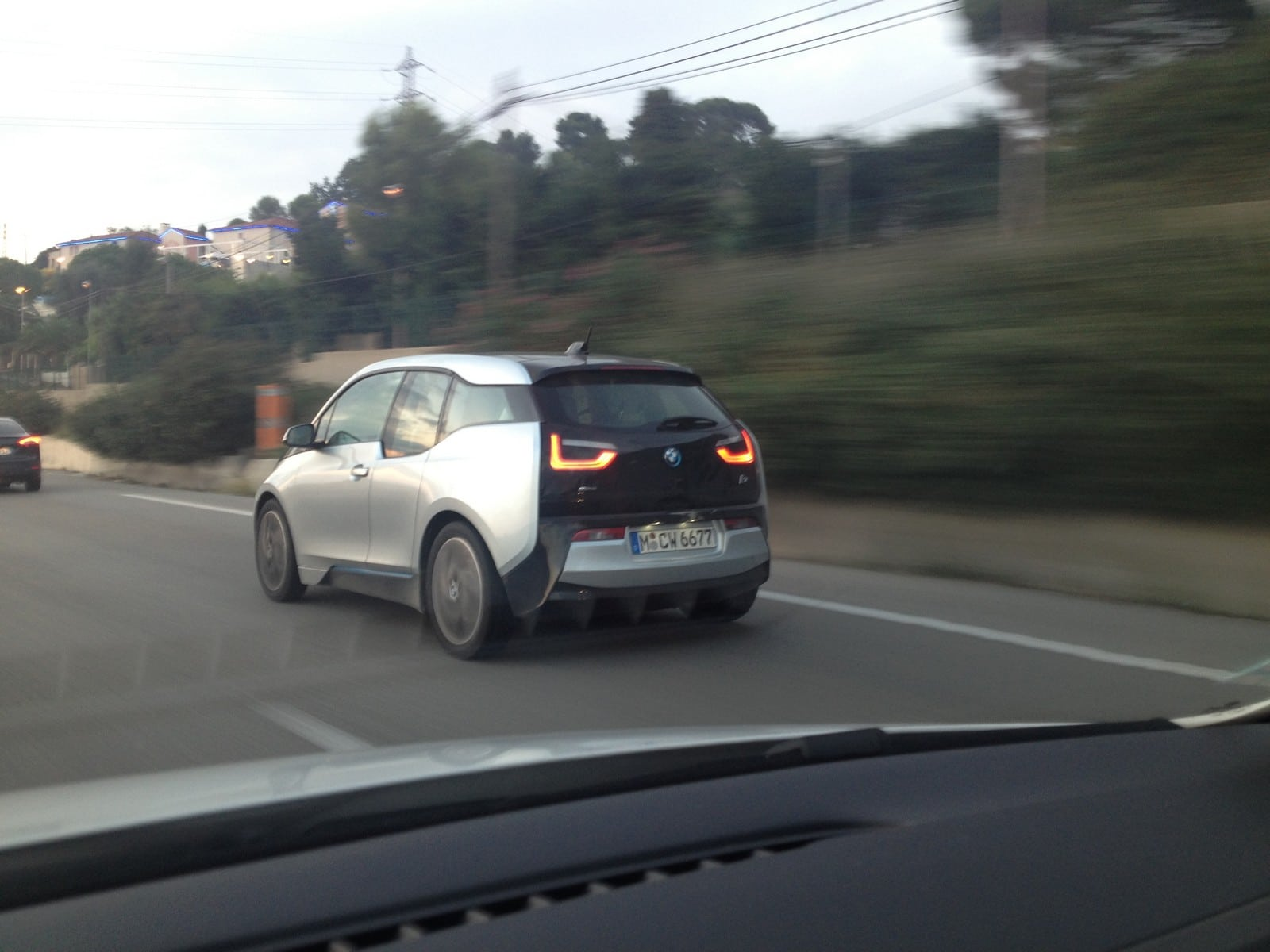 Spyshots : la BMW i3 surprise dans le sud de la France