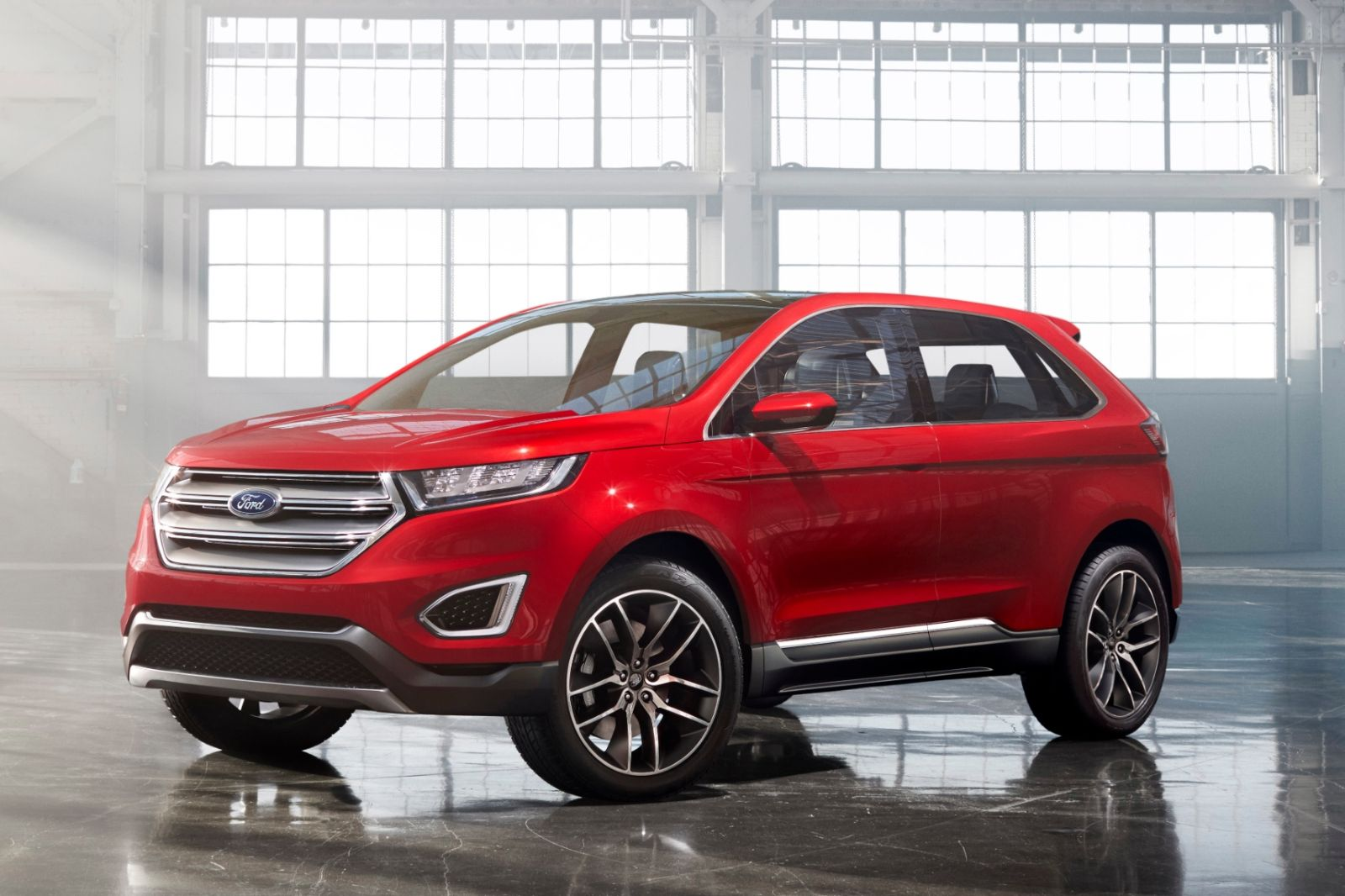 le ford edge concept annonce un suv au style us en europe. Black Bedroom Furniture Sets. Home Design Ideas