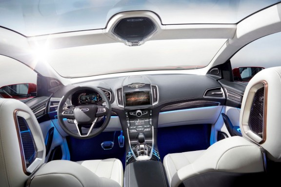 Ford Edge Concept - Habitacle