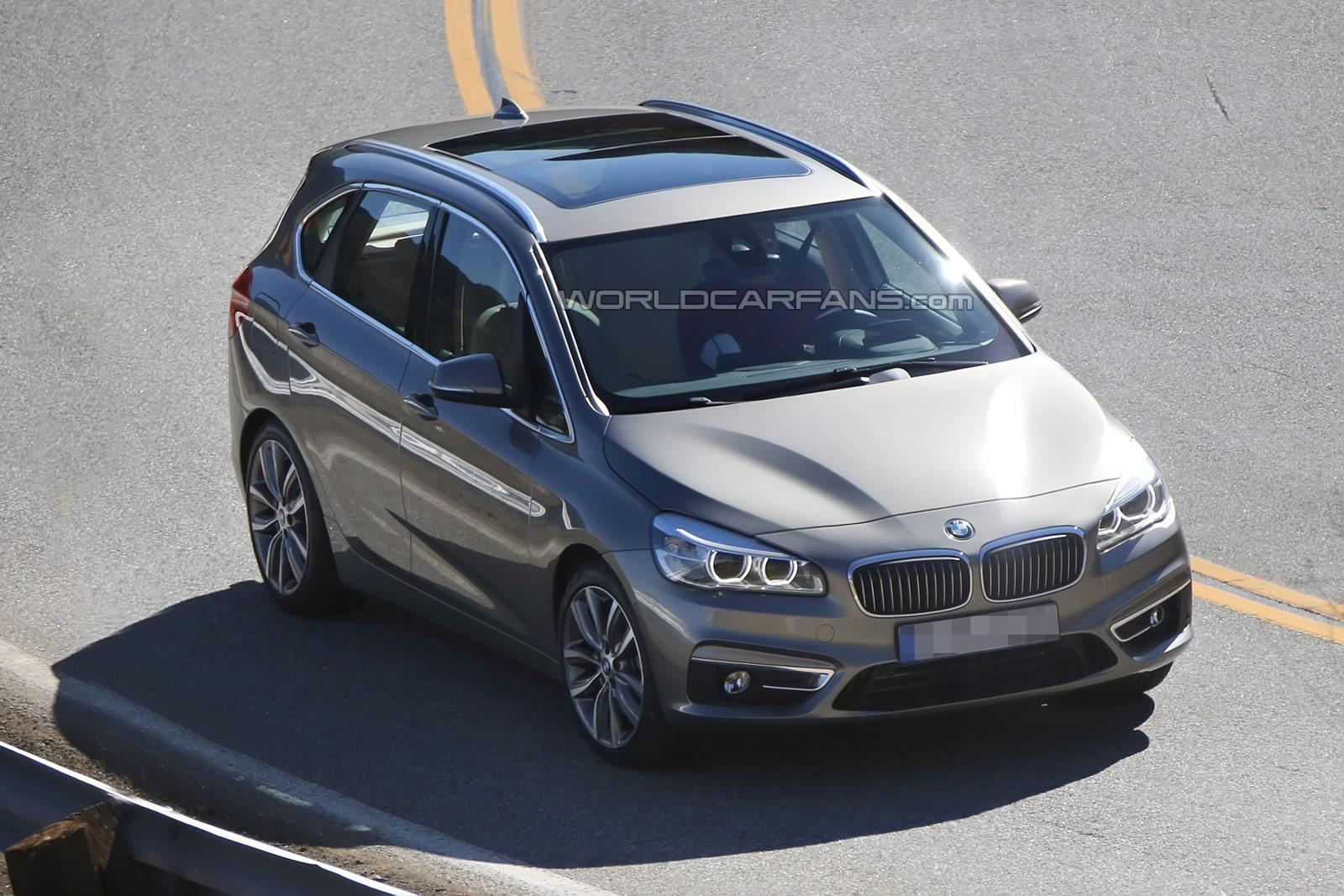 Le futur monospace traction BMW surpris en photos !