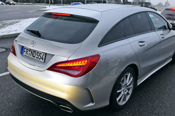 Surprise : la future Mercedes CLA Shooting Brake