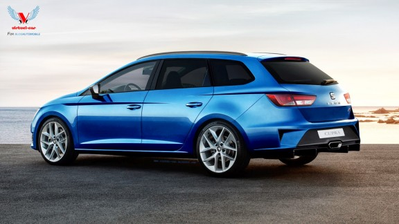 Seat Leon 3 break Cupra 2014