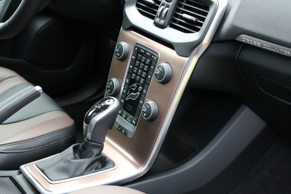 console centrale v40 cross country