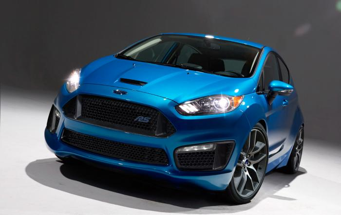 Future Ford Fiesta RS : 230 ch pour 2015 ?