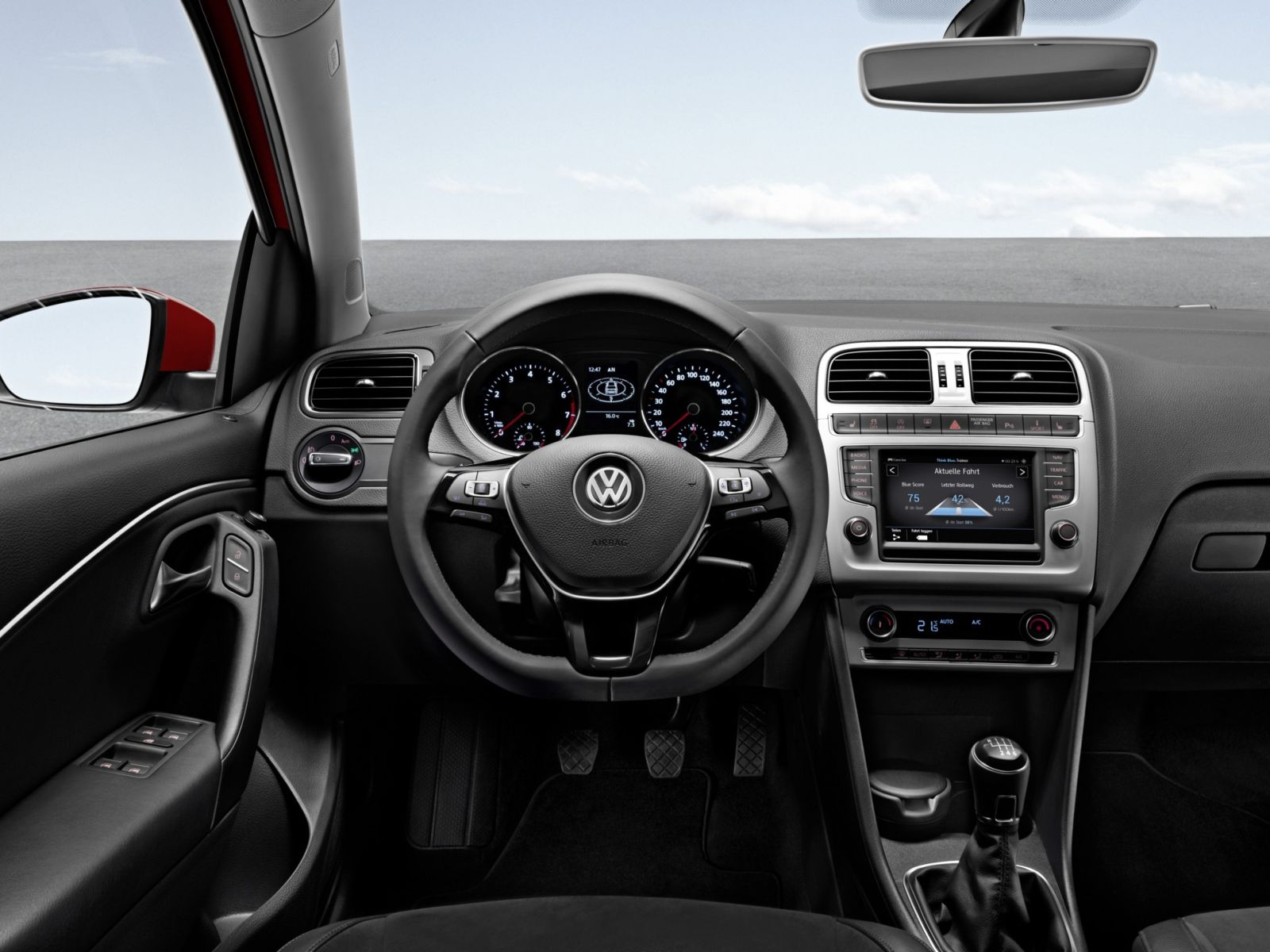 vw polo v 2014 offre moteur compl tement revue. Black Bedroom Furniture Sets. Home Design Ideas