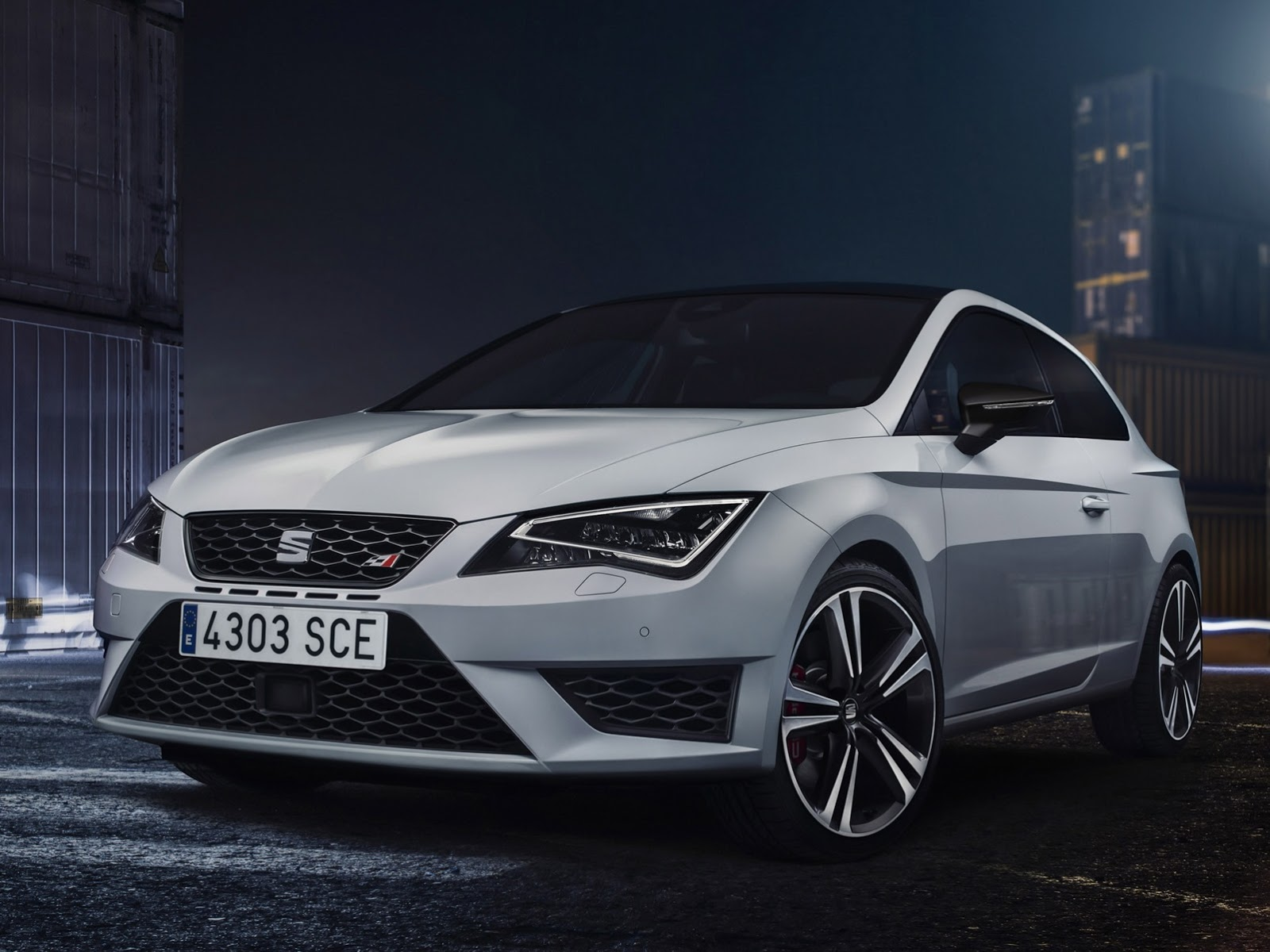 seat leon cupra 2014 les photos officielles. Black Bedroom Furniture Sets. Home Design Ideas
