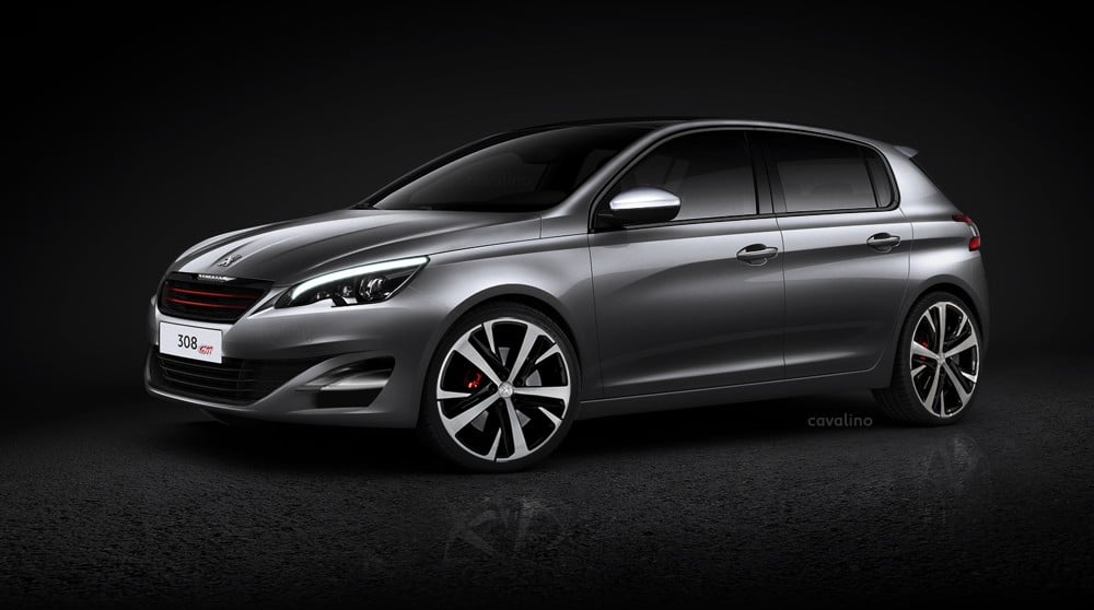 Peugeot 308 II : une berline & break SW GT / GTI dès 2014 !