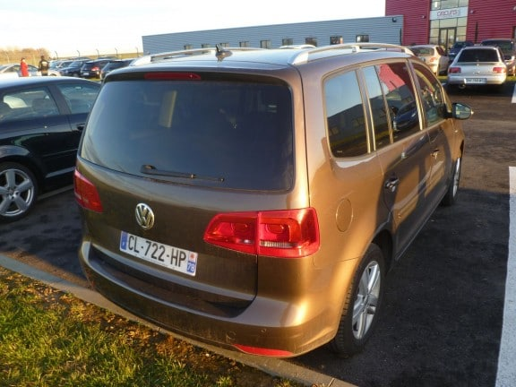 vw touran brun Graciosa
