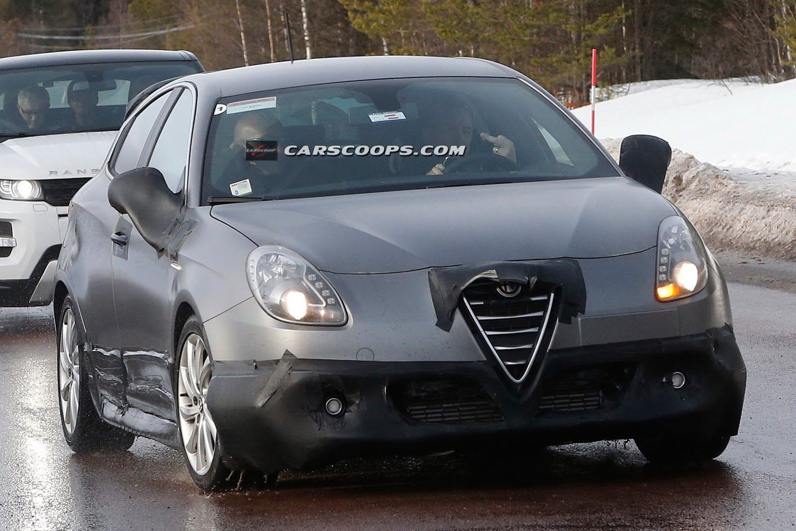 les spyshots de l 39 alfa romeo giulietta qv 2014. Black Bedroom Furniture Sets. Home Design Ideas