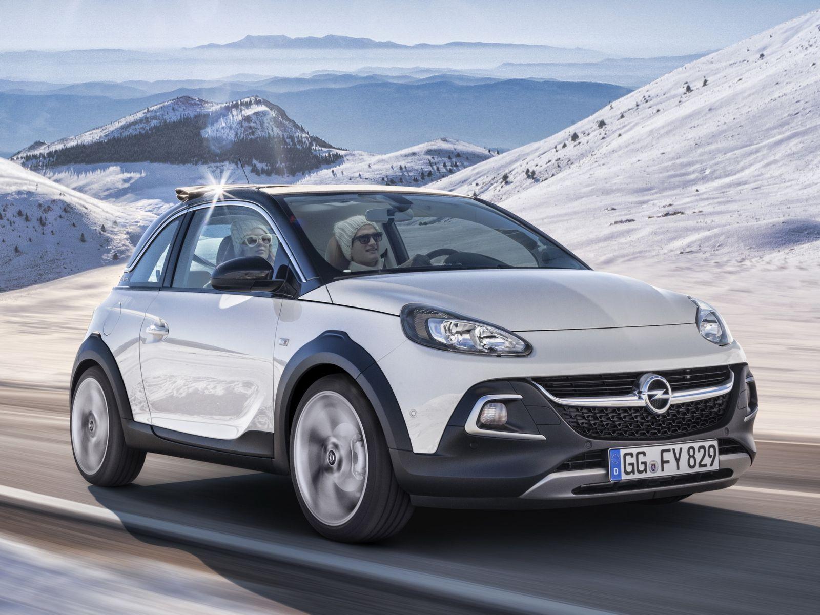 Nouvelle Opel Adam Rocks : couteau suisse